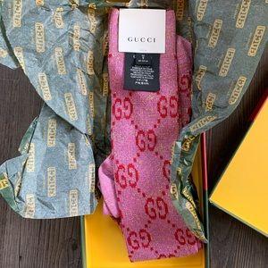 Pink Gucci Socks